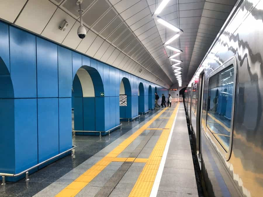 Baikonur Metro Station: Almaty Kazakhstan - One day in Almaty itinerary (layover guide)-27