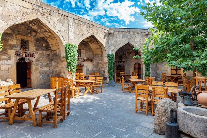 Baku restaurant Old City