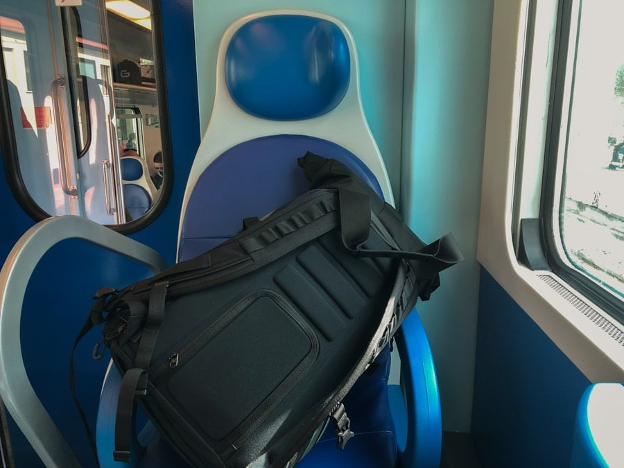 Getting from Bari to Monopoli in Italy by Trains-1-min