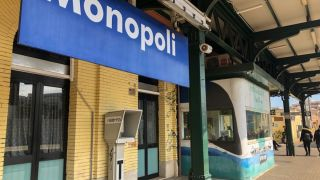 How to Cheaply Get From Bari to Monopoli by Train