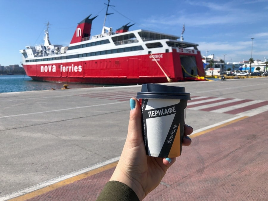 How to get the Athens to Aegina ferry from Piraeus Perikafe