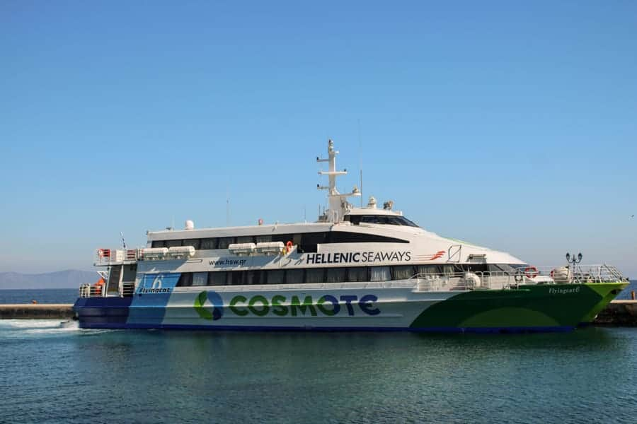 How to get the Athens to Spetses ferry from Piraeus-4