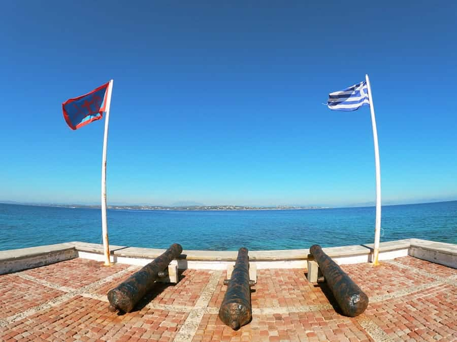 How to get the Athens to Spetses ferry from Piraeus-5