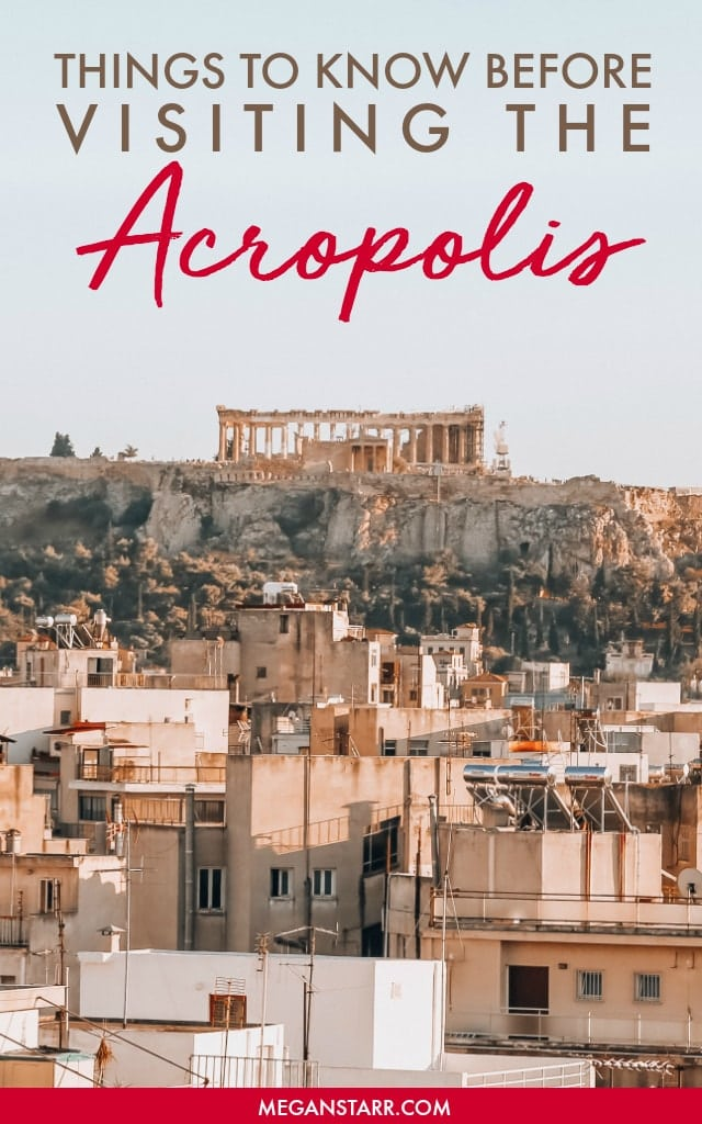 20 Incredibly Useful Things to Know Before Visiting the Acropolis #greece #acropolis #athens #greek #greekhistory #unesco