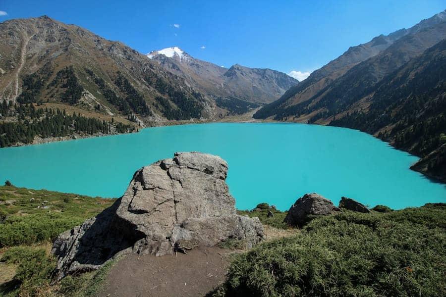 Big almaty lake in KZ