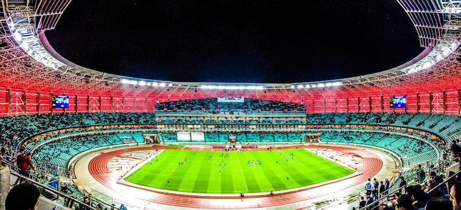 Baku Olympic Stadium inside