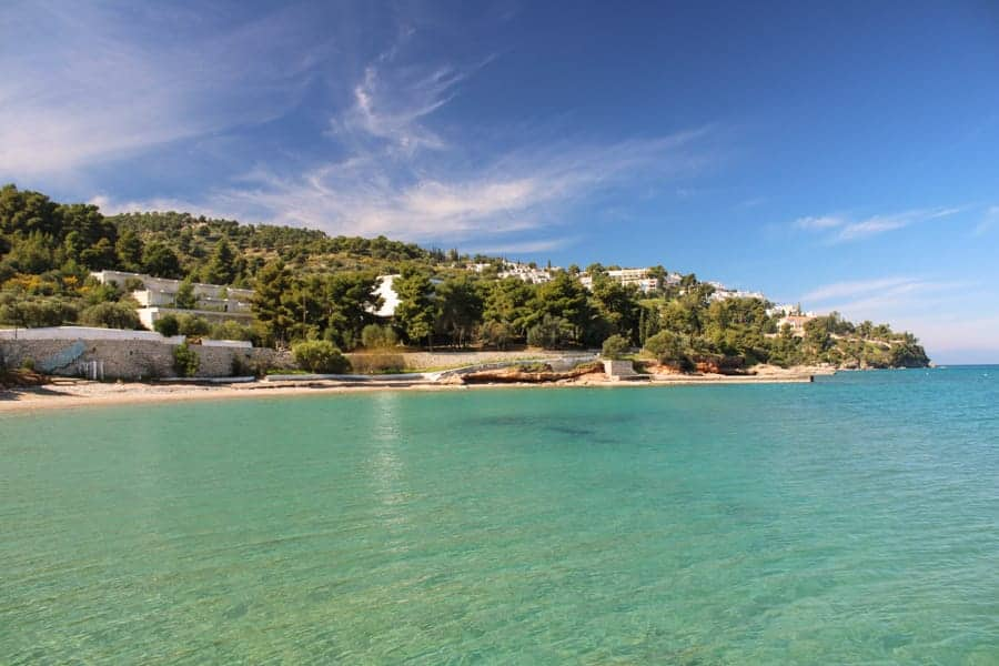 Kaiki Beach Spetses Greece (things to do in Spetses)-22
