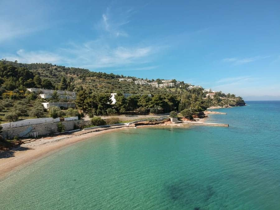 Kaiki Beach Spetses Greece (things to do in Spetses)-34
