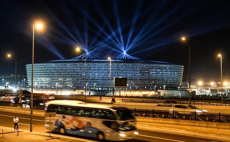 how to get to baku olympic stadium