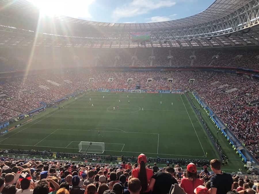 Luzhniki Stadium in Moscow - Photo provided by Liza of Tripsget