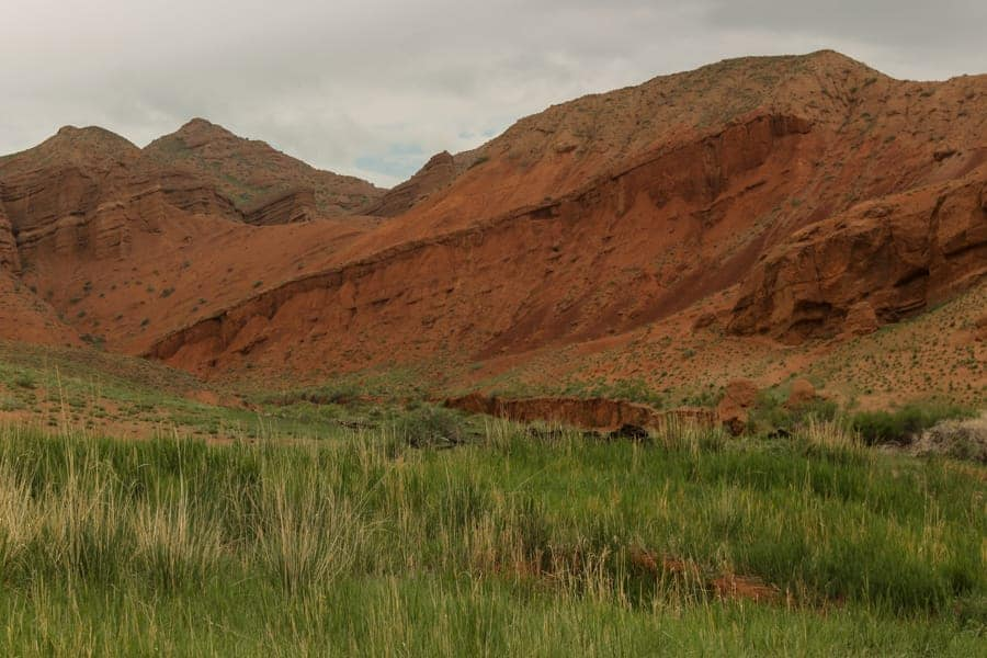 Konorchek Canyon Kyrgyzstan Hiking in Summer-3