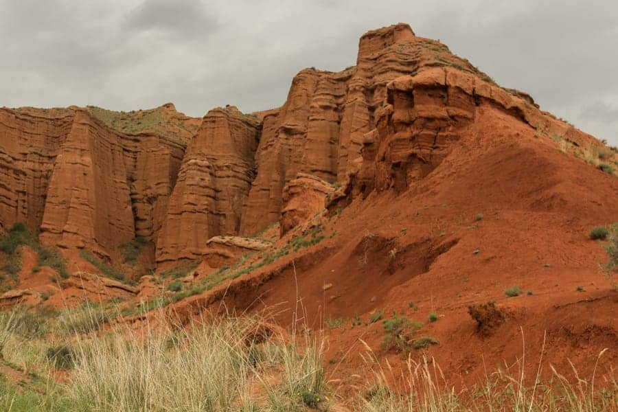 Konorchek Canyon Kyrgyzstan Hiking in Summer-8