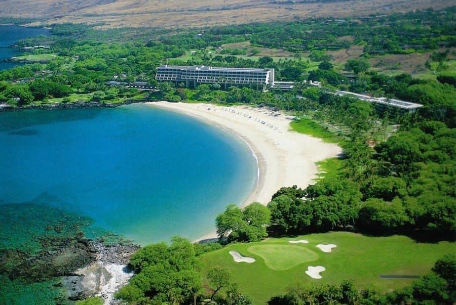 Mauna Kea Beach Hotel & Beach - Aerial Photo-XL