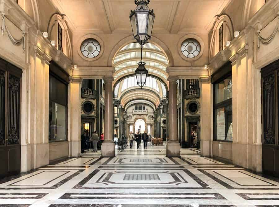 Passageway in Torino, Italy