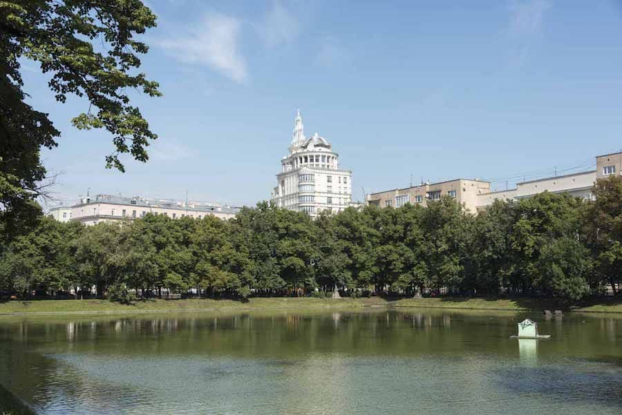 Patriarch's Pond in Moscow - Photo provided by Margherita of The Crowded Planet
