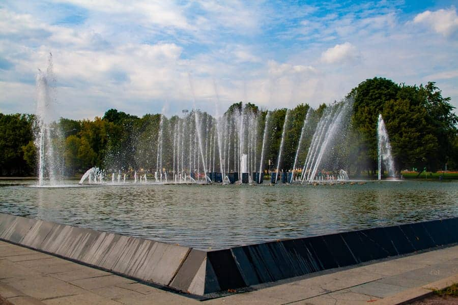 Gorky Park in Moscow - Photo provided by Joanna of The World in my Pocket