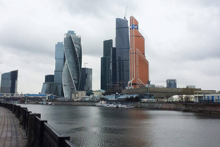 Moscow City in Moscow - Photo provided by Lesia of Dutch Wannabe