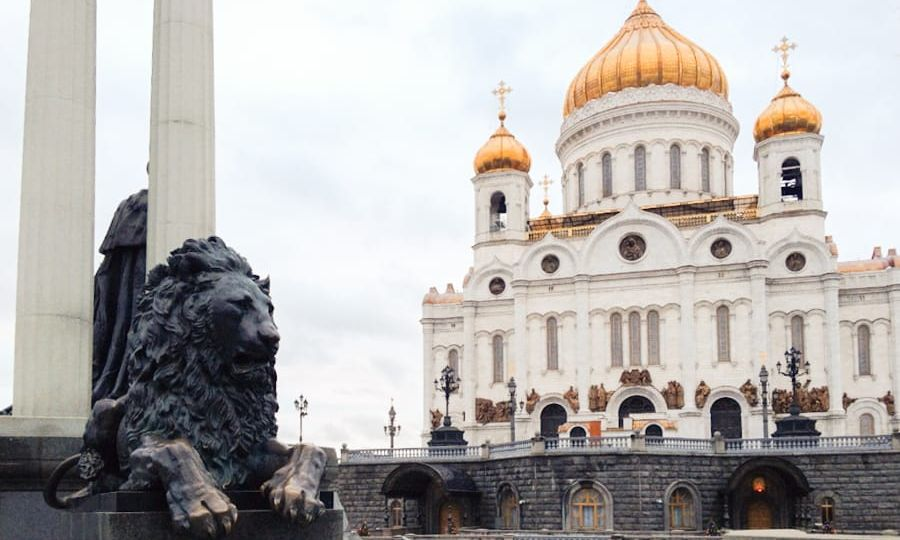 places to visit in moscow russia Cathedral of Christ the Saviour