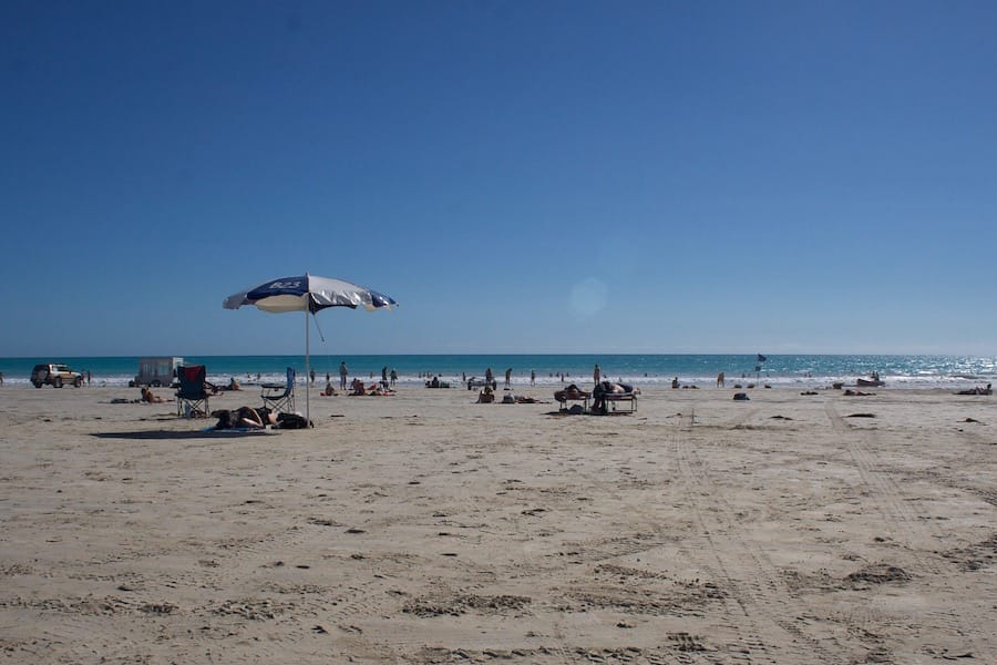 Late afternoon at Cable Beach