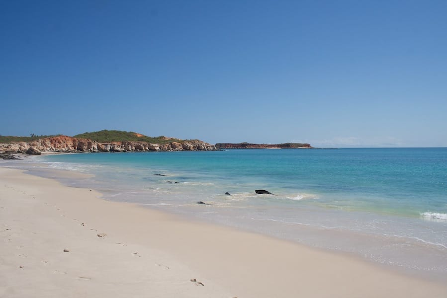 Cape Leveque at the tip of the Dampier Peninsula