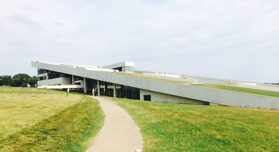Moesgaard architecture in Aarhus