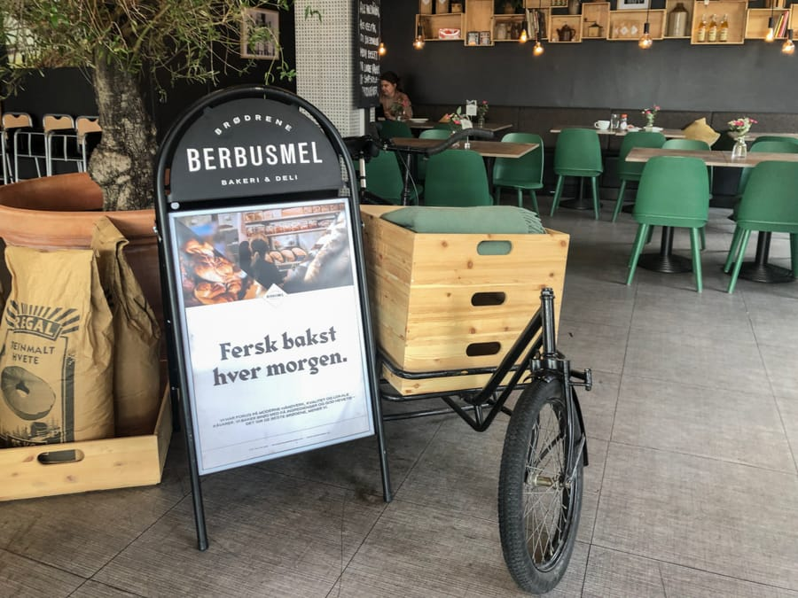 berbusmel cafe in bodo norway