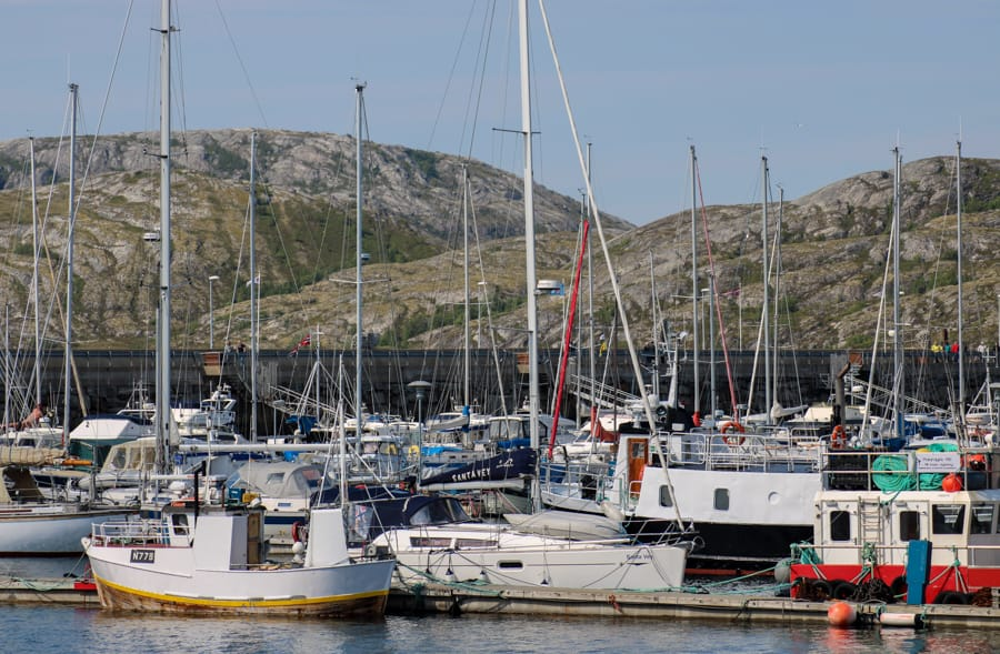 bodo harbor in norway