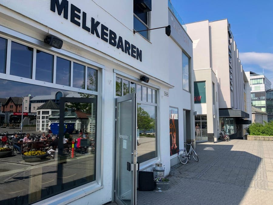 melkebaren cafe in bodo norway