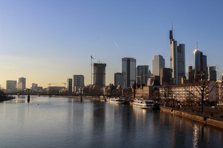 General Frankfurt Skyline