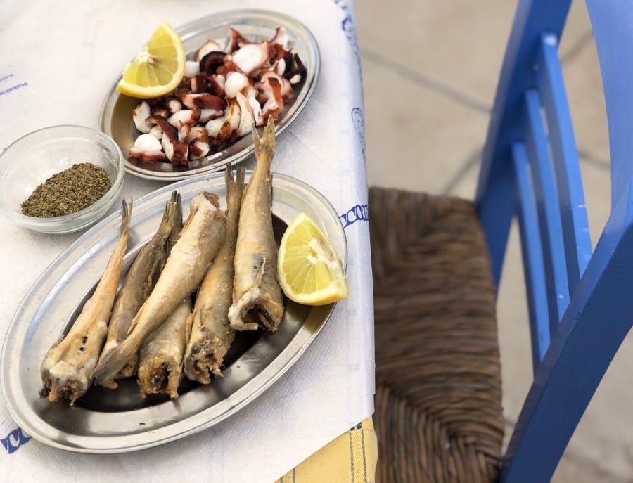 Food in Aegina