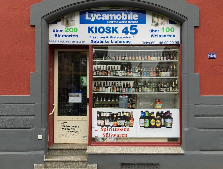 Kiosk 45 in frankfurt