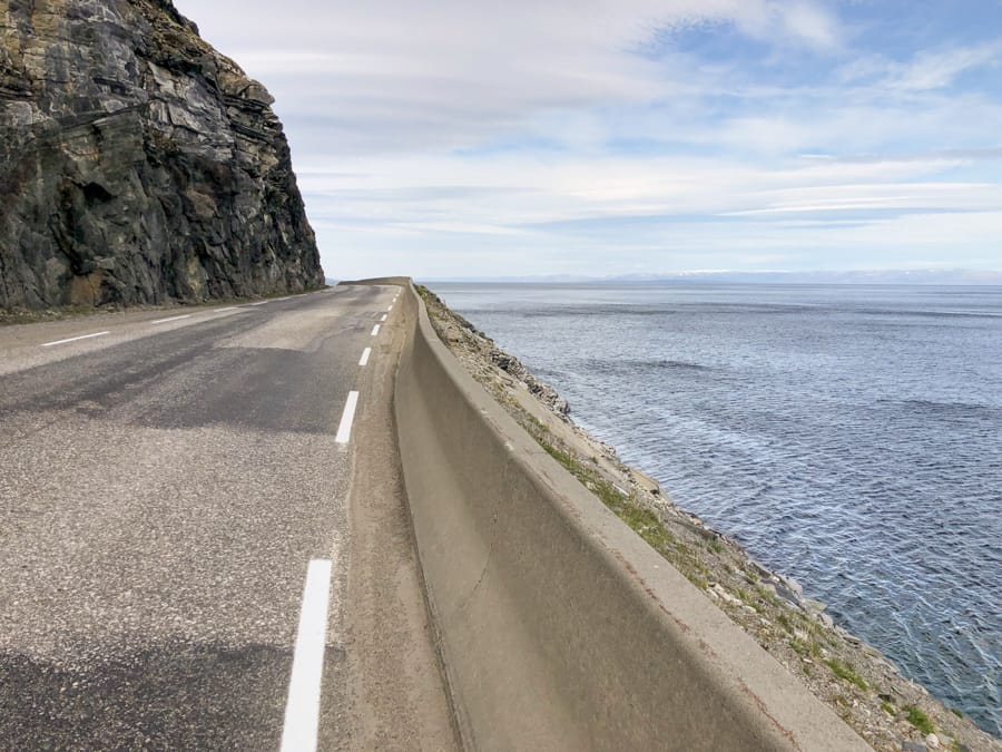 On the way to Stabbursdalen National Park in Norway from Honningsvåg and the North Cape-6