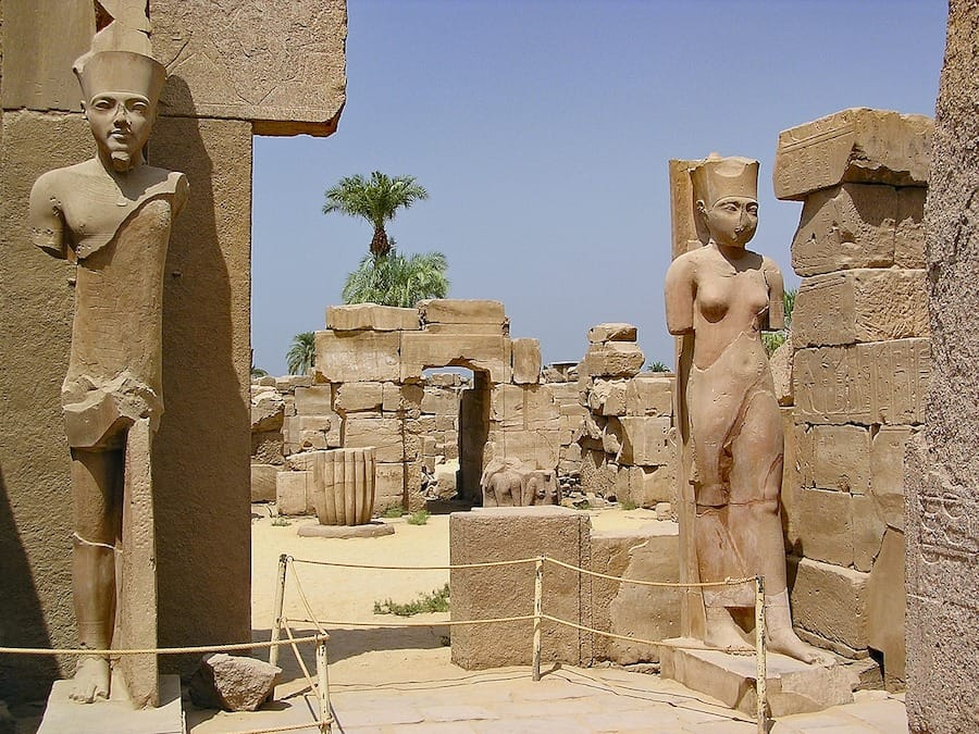 Karnak Temple Complex - one of the best places in Egypt to visit