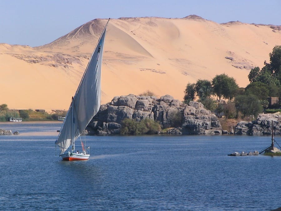 the nile river egypt