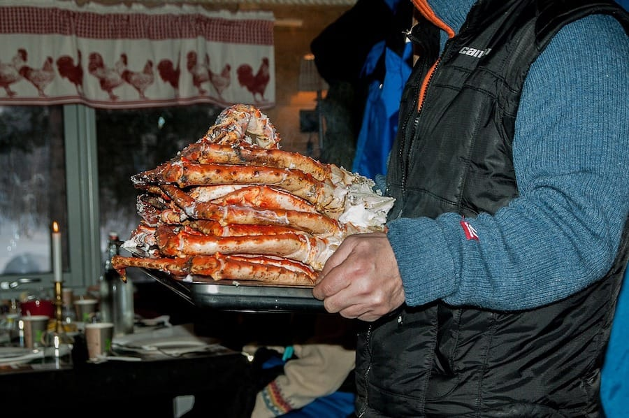 King Crab in the North of Norway