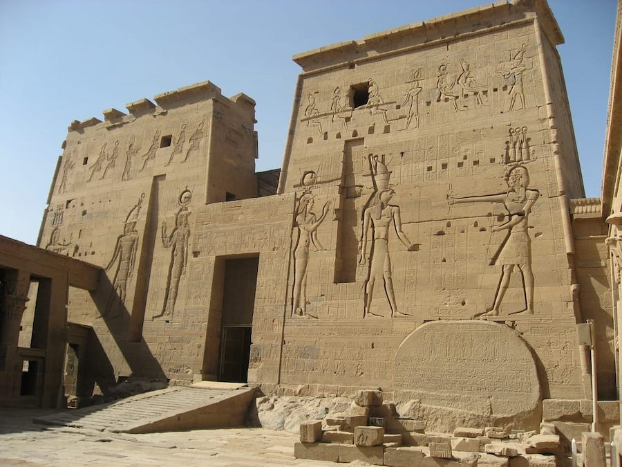 Temple of Isis in Egypt