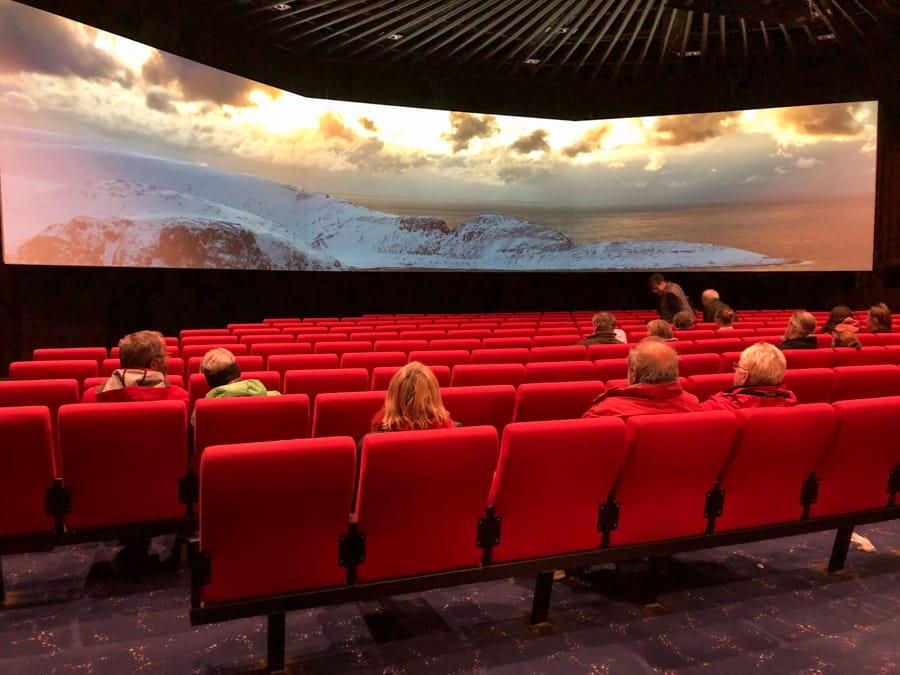 the cinema at nordkapp