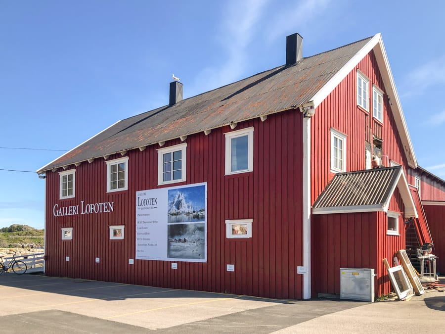 Galleri Lofotens Hus in Henningsvær Norway