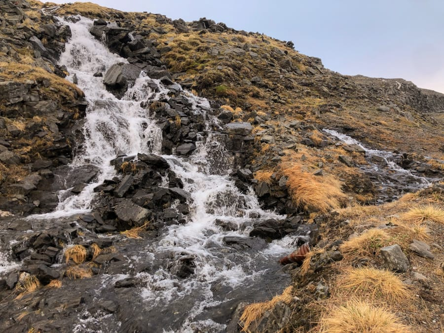 waterfall near nordkapp