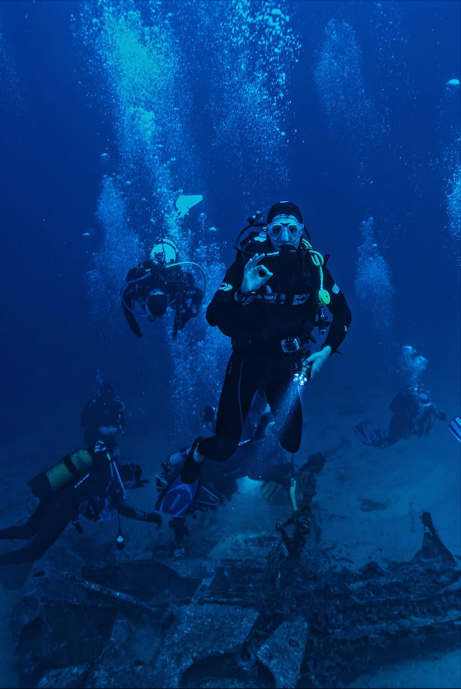 Scuba Diving in the Azores - Azores diving guide and PADI certification and qualifications