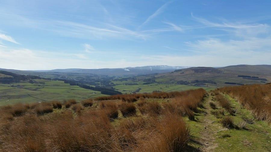 hiking near manchester england winter