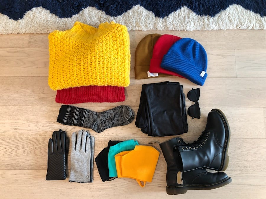 norway in winter packing list