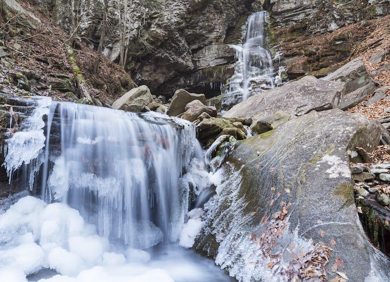 Buttermilk Falls Catskills