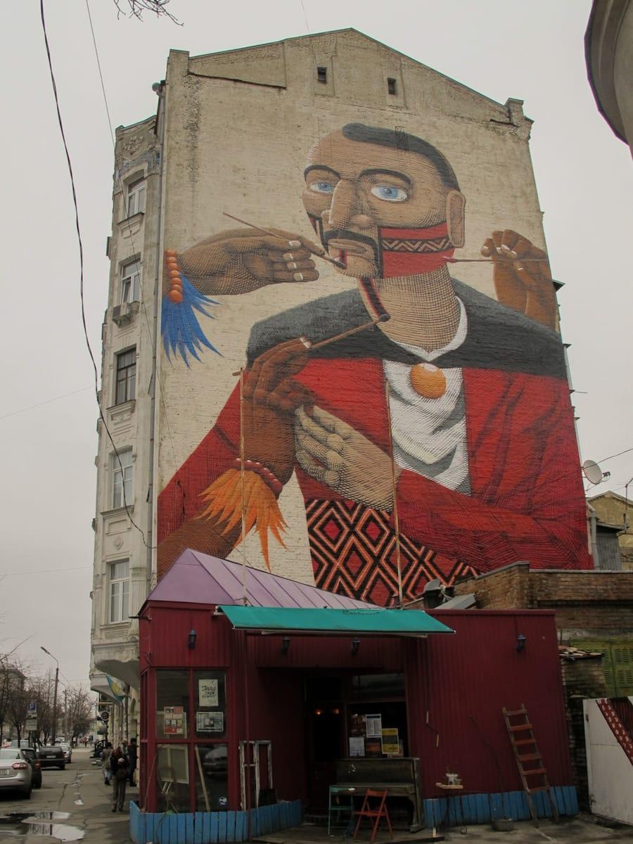 kyiv street art in ukraine