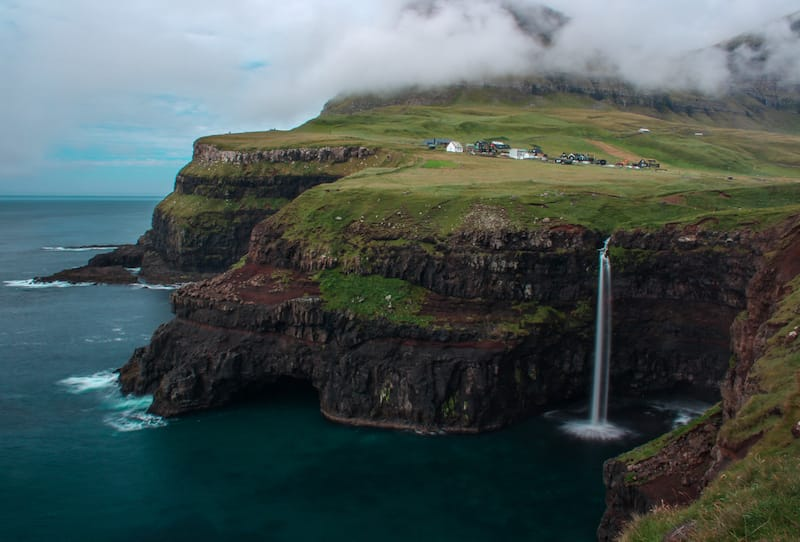 Mulafossur in the Faroe Islands