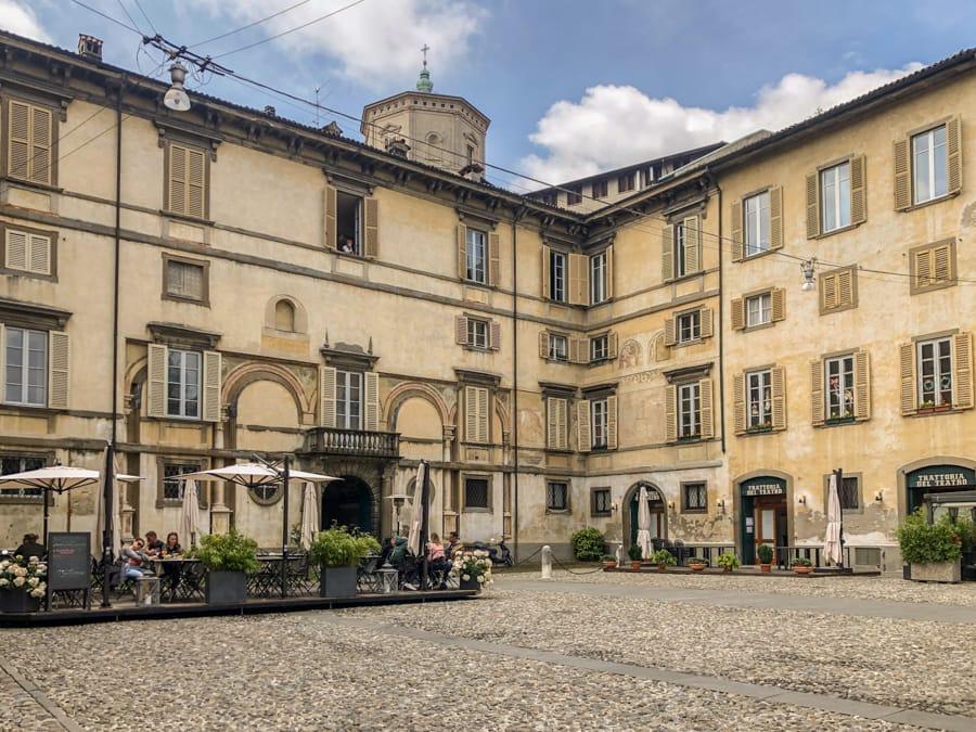 Getting from Bergamo Airport to Bergamo