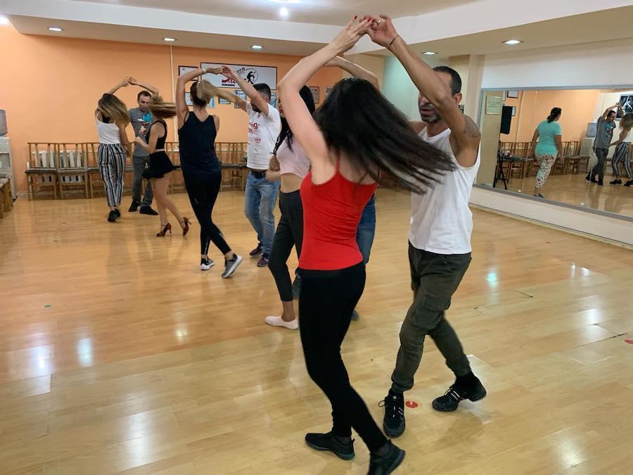 Latin dancing in Yerevan