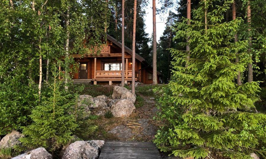 trip to Lehmonkärki resort near Lahti, Finland in Finnish Lakeland-31