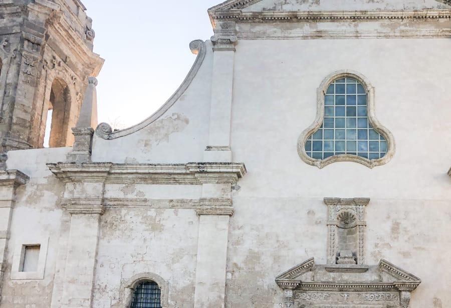 Chiesa di San Salvatore in monopoli, italy