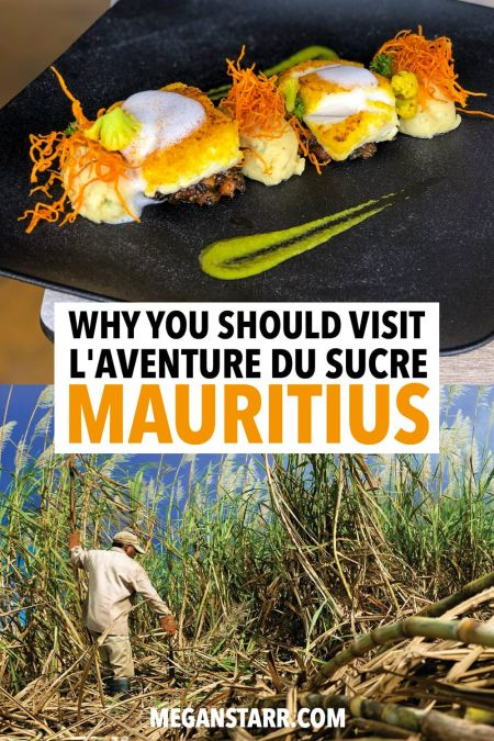 One of the most interesting things to do in Mauritius is to visit L'Aventure du Sucre, a sugarcane factory converted into a museum. Check out this post for more details! #mauritius #sugar #museum #tropical